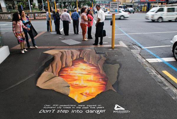 Cliquez sur l'image - Street marketing